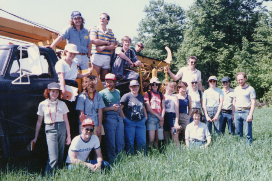 1987 Nelson Institute field trip group